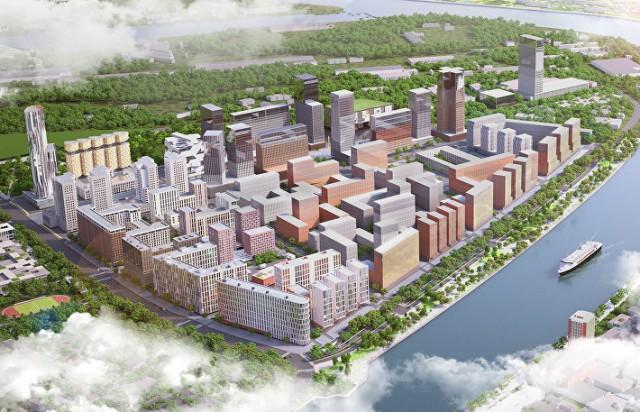 Город для 77 тыс. жителей построят на территории бывшего завода ЗИЛ