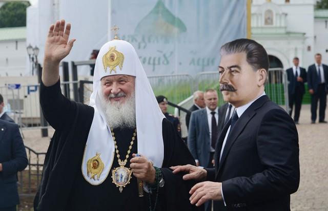 Патриарх Кирилл призвал помнить о плюсах коммунизм