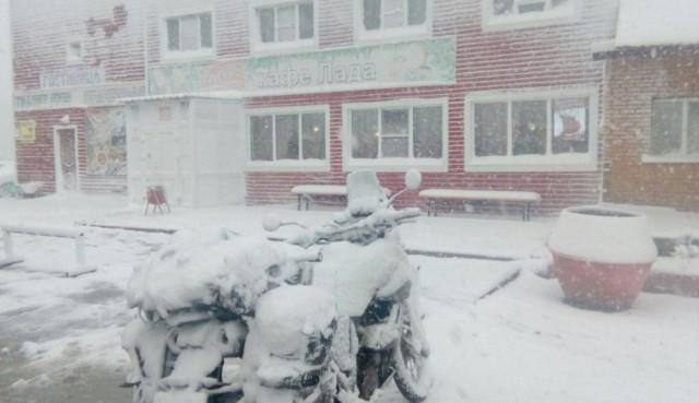 Новосибирск завалило снегом. Какой город следующий?