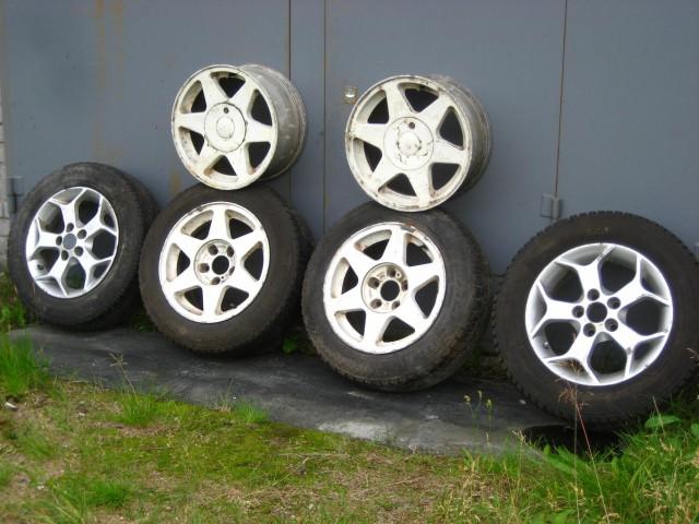 Колеса на Opel Omega или Vectra на литых алюминиевых дисках 195-65 R15