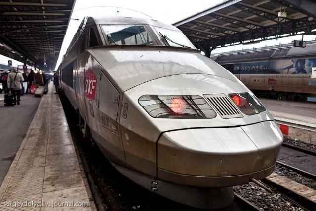 Как устроен скоростной поезд TGV