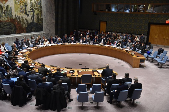 Россия запросила срочное заседание Совбеза ООН по ситуации в Азовском море