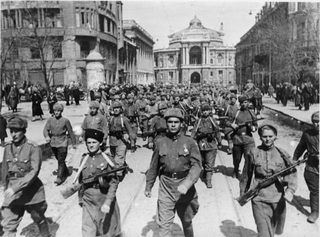 Освобождение Одессы
