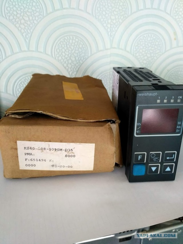 продам Регулятор KS40-108-9090M-D35 Weishaupt
