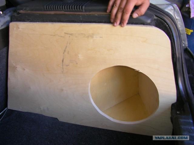 Сабвуфер в ваз 2110 в заднее крыло