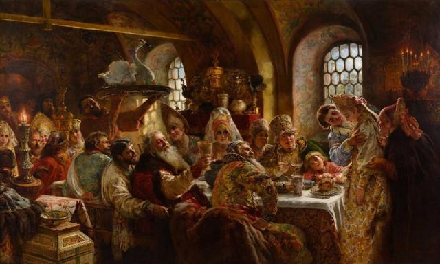 Рацион Древней Руси