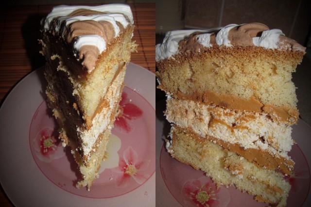 Фото-рецепт торта иней