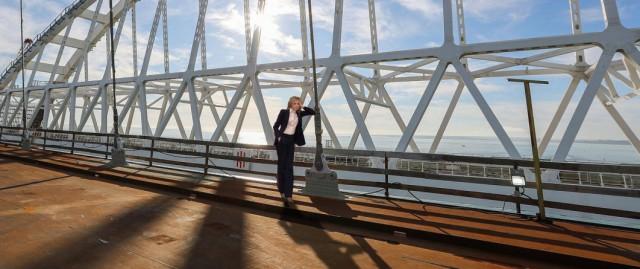 Поклонская назвала Крымский мост воплощением идеи Николая II