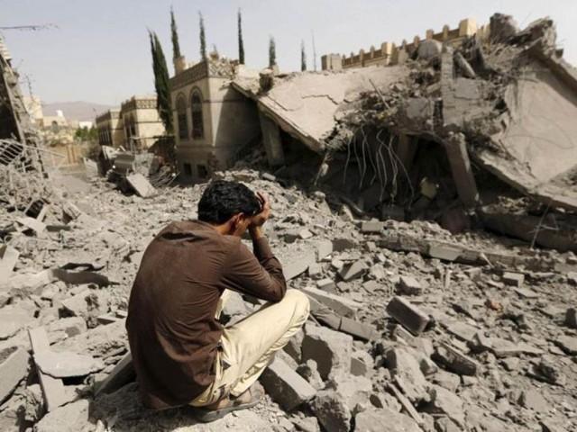 Вчера в Йемене ВВС Саудовской Аравии нанесли удар по свадьбе.Погибло 33 человека, включая невесту.