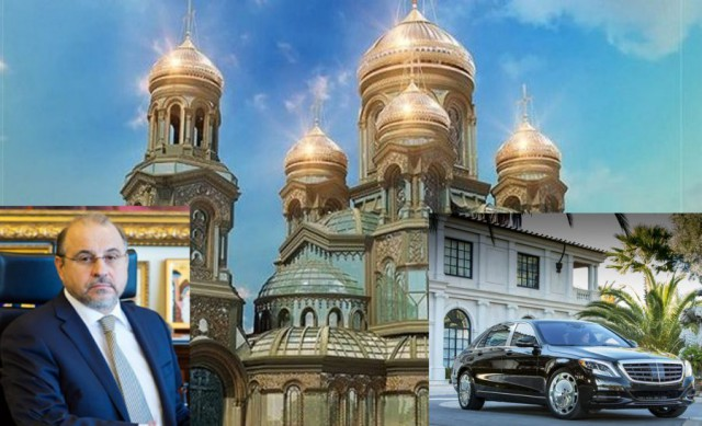 """Глава фонда """"Воскресение"""" Каньшин, собирая деньги на «Главный Храм ВС РФ» купил себе «Майбах»"""