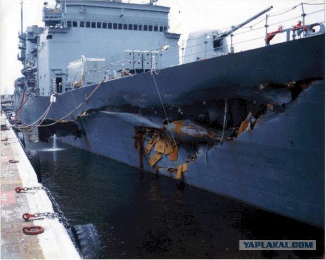 Аварии на американском флоте