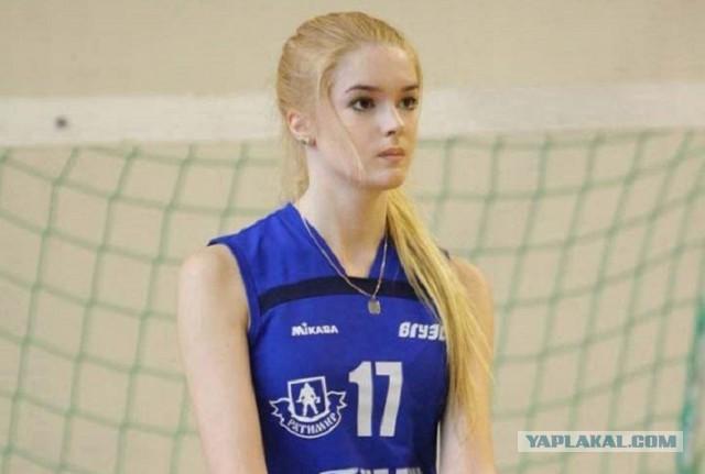 Самая красивая волейболистка России