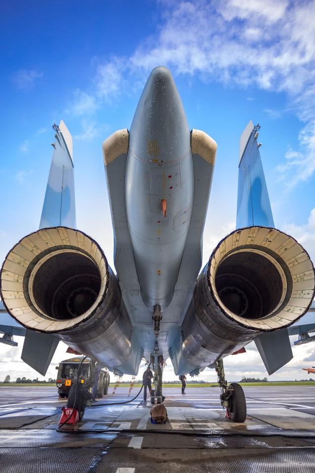 """Русские витязи"" получили Су-30СМ"