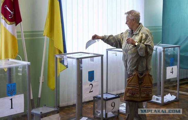 На Украине начался второй тур президентских выборов