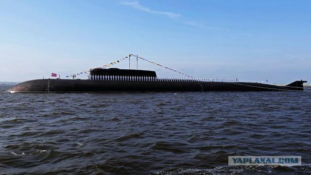 Крупнейшая подводная лодка в мире