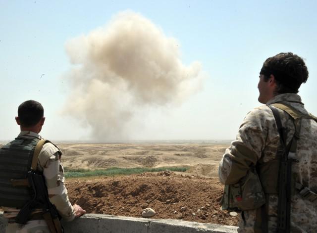 СМИ: При нападении на военную часть в Ираке террористы ИГИЛ применили иприт
