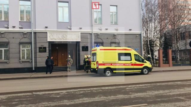 У здания ФСБ в Архангельске произошёл взрыв