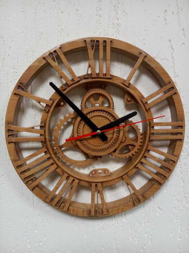 Часы на ЧПУ