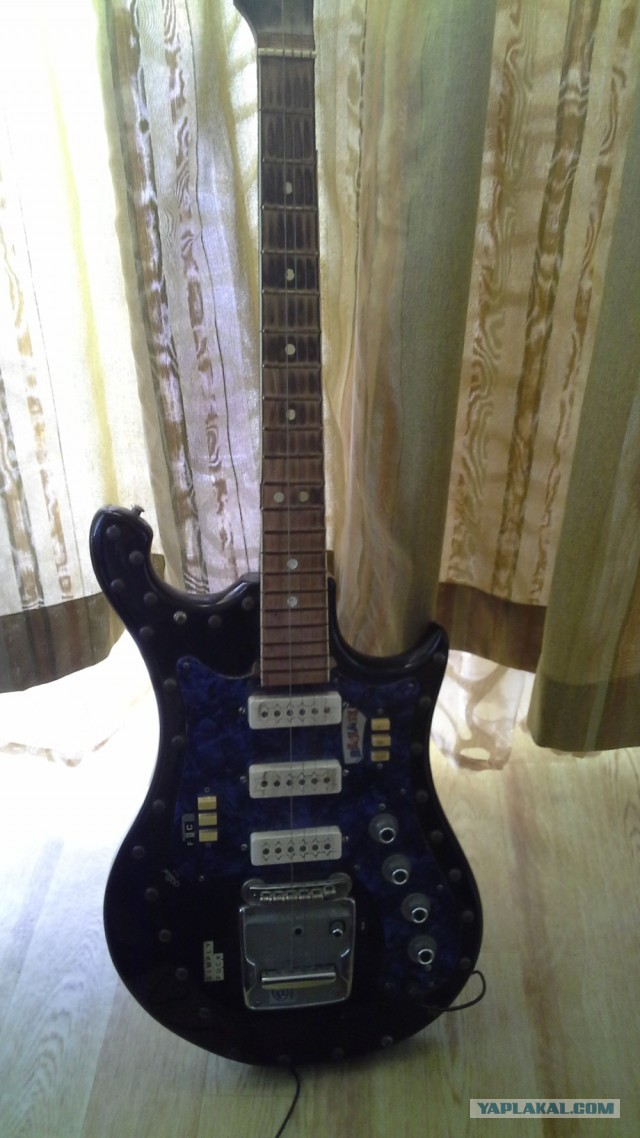 Приведение в порядок гитары Урал