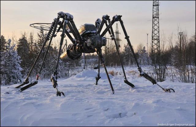 На Логане в Надым: новогодняя охота на комара