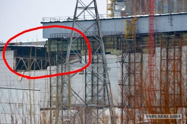 На Чернобыльской АЭС рухнула кровля машинного зала