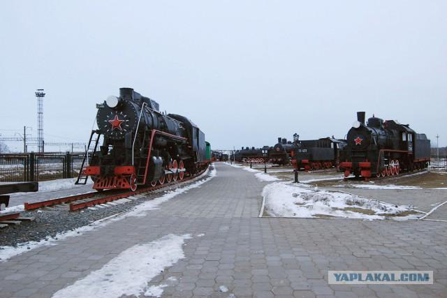 Музей паровозов в Нижнем Новгороде