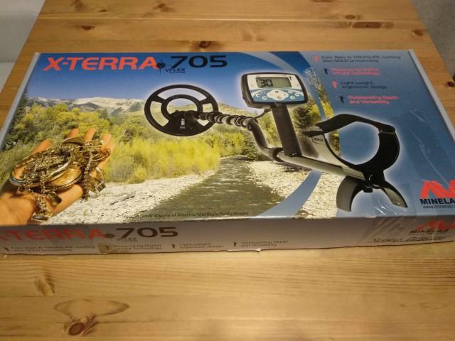 Металлоискатель Minelab X-Terra705