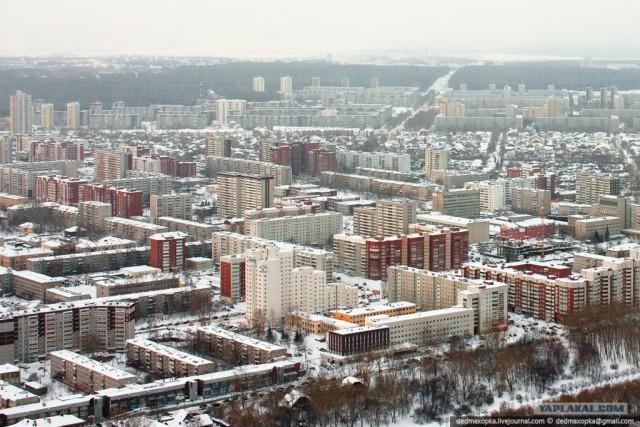Заброшенная телебашня, Екатеринбург