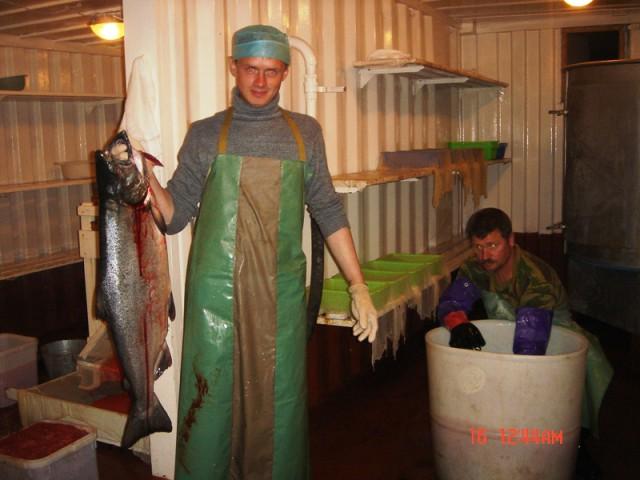 Путина 2005, Камчатка
