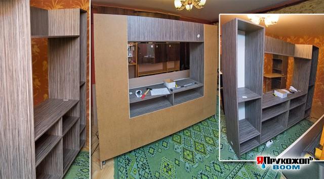 Нестандартный шкаф в стандартной хрущёвке