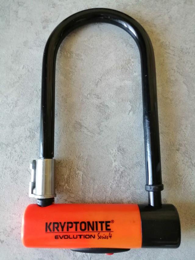 Велозамок Kryptonite запродам.