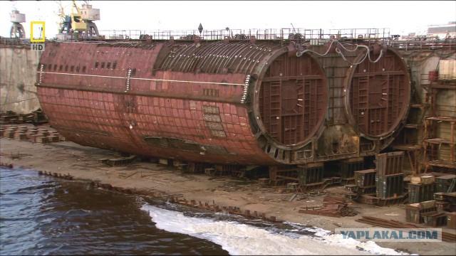Тяжелые ракетные подводные крейсеры стратегического назначения проекта 941
