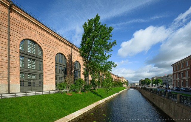 Ход реконструкции исторического комплекса «Новая Голландия» в Санкт-Петербурге