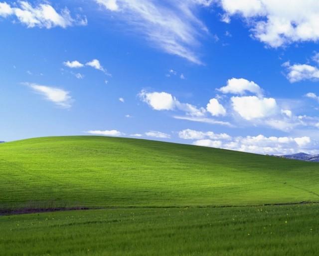 Раньше трава была зеленее: в Microsoft Flight Simulator нашли поле со стандартного фона рабочего стола Windows XP