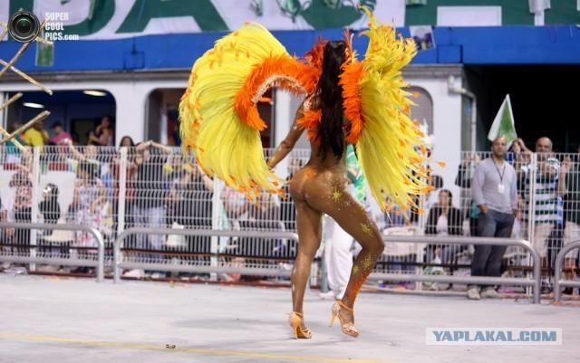 голая танцует самбу