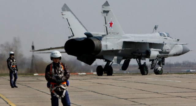 Россия отправила в Сирию шесть МИГ-31