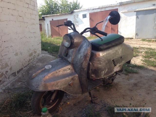 Скутер в советской шкуре