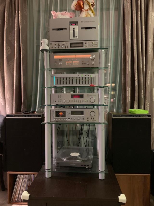 Винтажная подборка аудиотехники AKAI, моя личная коллекция