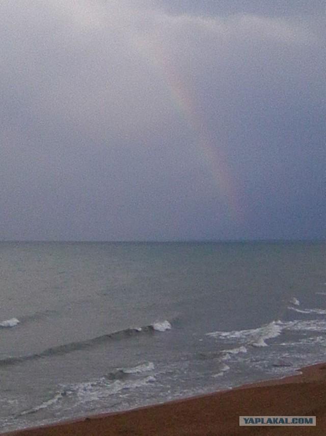 Море Каспийское и море Черное