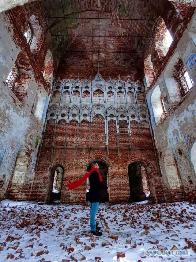 Заброшенные церкви Тверской области
