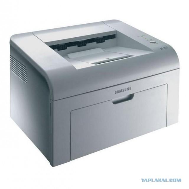 Лазерный принтер Samsung ml 1615 с тонером за 1000 р.