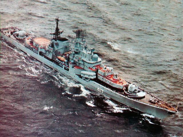 Последние эсминцы СССР-эскадренные миноносцы проекта 956 «Сарыч»