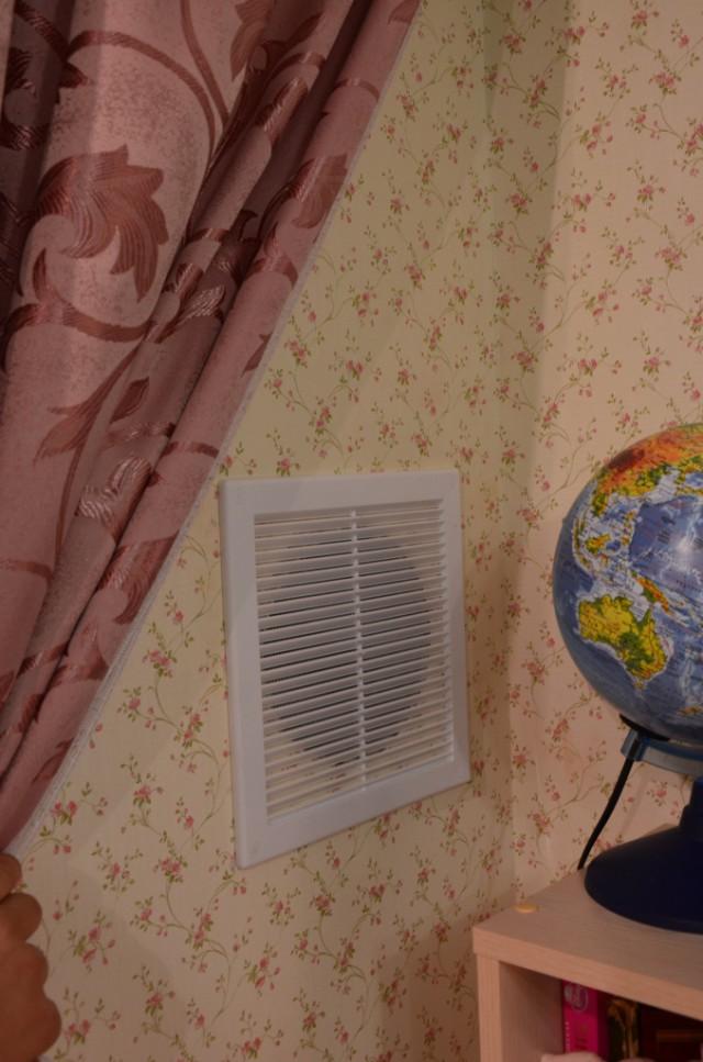 Как я приточную вентиляцию мастерил.