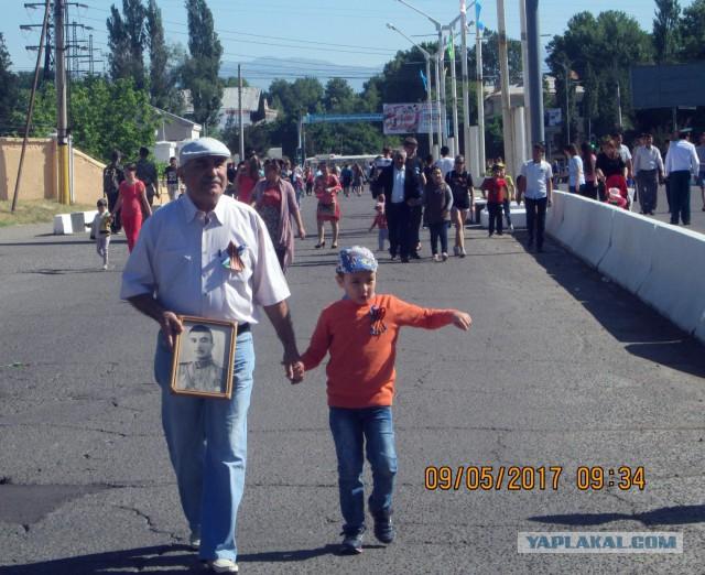 Чирчик, Узбекистан. День Победы! 2017