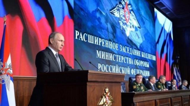 """В. Путин """"США угрожает безопасности РФ пытаясь разжечь большую войну"""""""