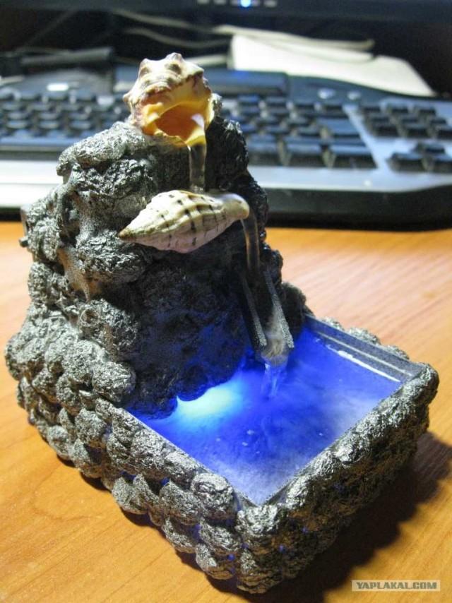 Самодельная лампа из пробирок.  Как сделать мини фонтан своими руками, начиная с помпы и заканчивая...
