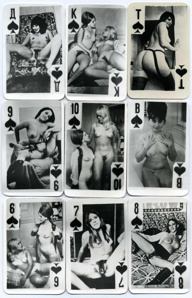 ссср карты игральные порно фото