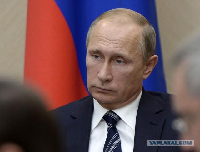Путин поблагодарил Трампа за данные ЦРУ о террористах в Петербурге