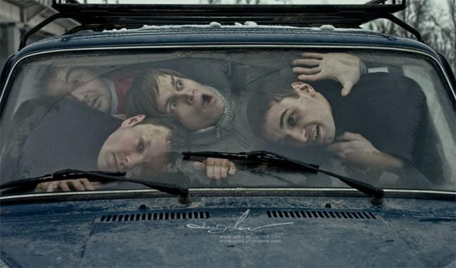 Жизнь в машине (22 фото)
