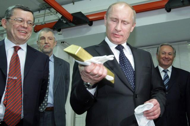 Citigroup перевозит золотые резервы в Россию.